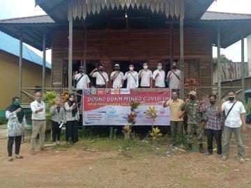 Tangkal Sebaran Covid-19, Kades Pedalaman Tayan Hilir Bentuk Posko PPKM Mikro Hingga Tingkat Dusun