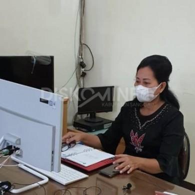 Bunda PAUD Kabupaten Sanggau Mengikuti Rakorda BAN PAUD dan PNF Provinsi Kalbar Tahap I Tahun 2021