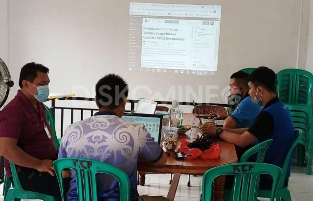 Sosialisasi dan Serah Terima Pengelolaan Website PPID Kec. Parindu