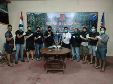 Tim Gabungan Tangkap Seorang Pria Pembawa Sabu 1,7 Kg di Kenaman, Sekayam