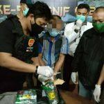 Satgas Pamtas gagalkan penyelundupan 1,7 kg sabu di Sanggau
