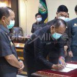 Wakil Bupati Sanggau menghadiri Rapat Paripurna Dengan Agenda Laporan Pimpinan Pansus dan Pendapat Fraksi, Pendapat Akhir Bupati Sanggau