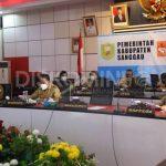 Bupati Sanggau Ikuti Webinar Sekaligus Menjadi Narasumber Dalam Memperingati HUT ke-30 Institut Dayakologi