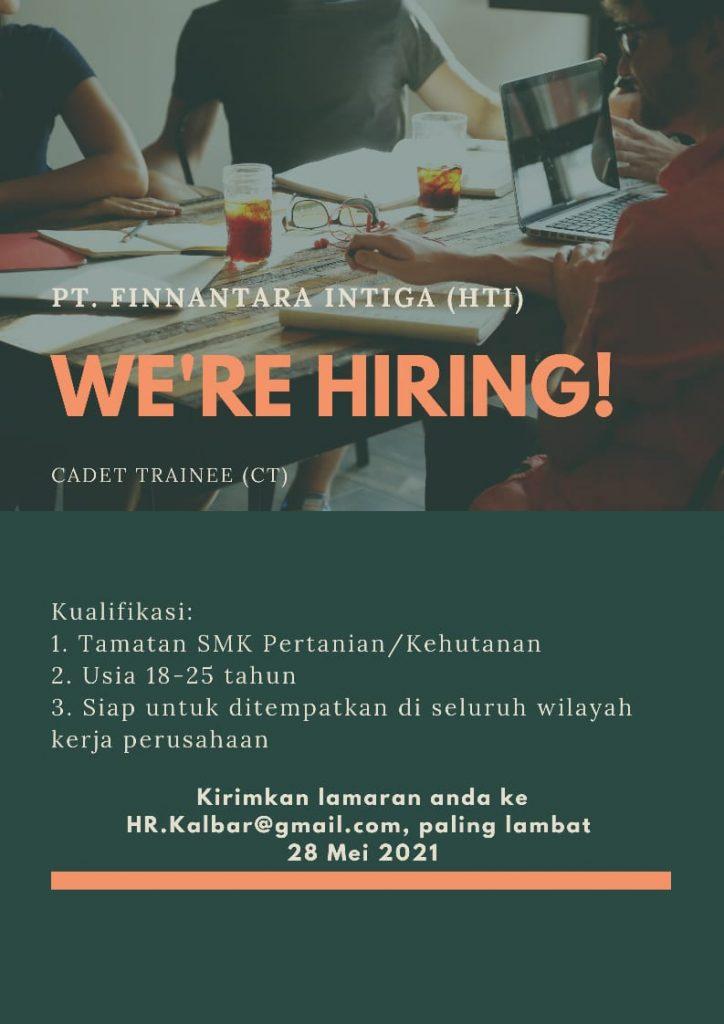 PT. Finnantara Intiga is Hiring!