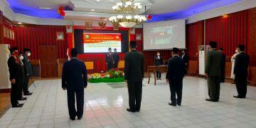 Pelantikan dan Pengambilan Sumpah Janji Jabatan Pimpinan Tinggi Pratama dan Auditor Ahli Pertama -