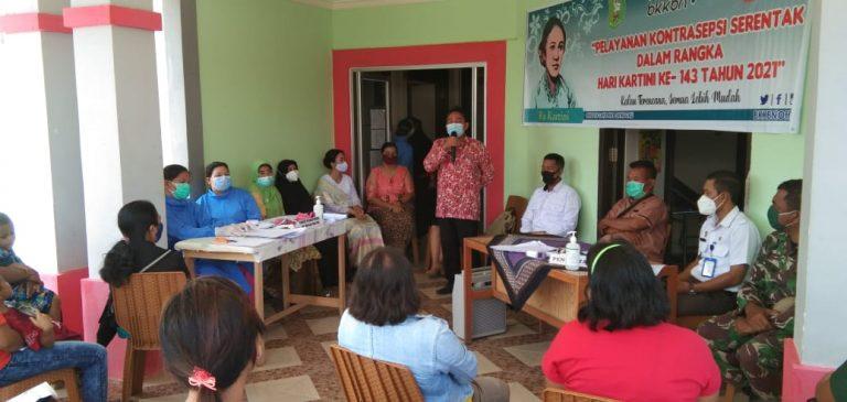 Pelayanan KB Serentak Dalam Rangka Hari Kartini