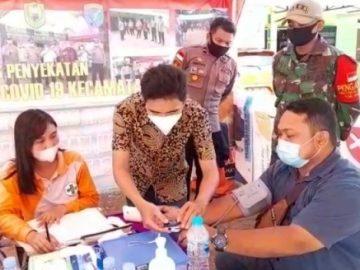 Polisi Perketat Pos Penyekatan di Semuntai