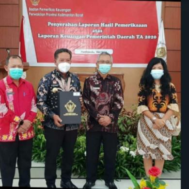 Pemerintah Kabupaten Sanggau kembali raih Opini WTP ketujuh  kalinya