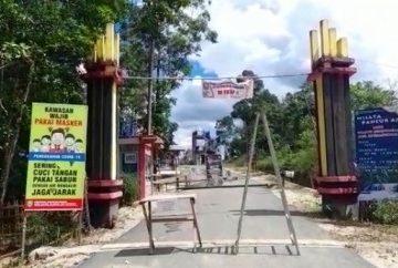 Wisata Pancur Aji di Sanggau Masih Tutup Sementara