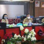 Bupati Sanggau Ikuti Kegiatan Koordinasi Pengembangan Insentif Berbasis Kinerja Ekologi (TAKE) Di Kabupaten Sanggau