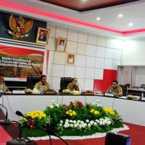 Bupati Sanggau Pimpin Rakor Gugus Tugas Reforma Agraria Kabupaten Sanggau