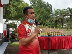 DINSOSP3AKB Kab. Sanggau Gelar Lomba Aksi Bersih Makam Pahlawan dalam rangka Memperingati Hari Pahlawan Tahun 2020