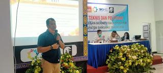 DINSOSP3KB Kab. Sanggau Lakukan Bimtek SIKS-NG dan SIDOMPU Kepada Operator Desa Di Seluruh Kabupaten Sanggau