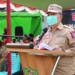 Giat Baksos Tagana dan RTLH Dompu 2020 di hadiri Wakil Bupati Sanggau