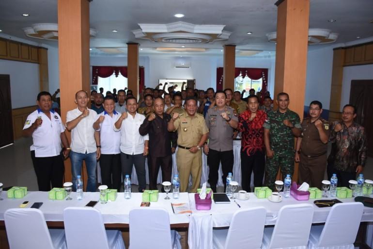 Buka Kegiatan Kongres PSSI, PH Berharap Pengurus Terpilih Mampu Membawa Kemajuan Sepak Bola di Kabupaten Sanggau