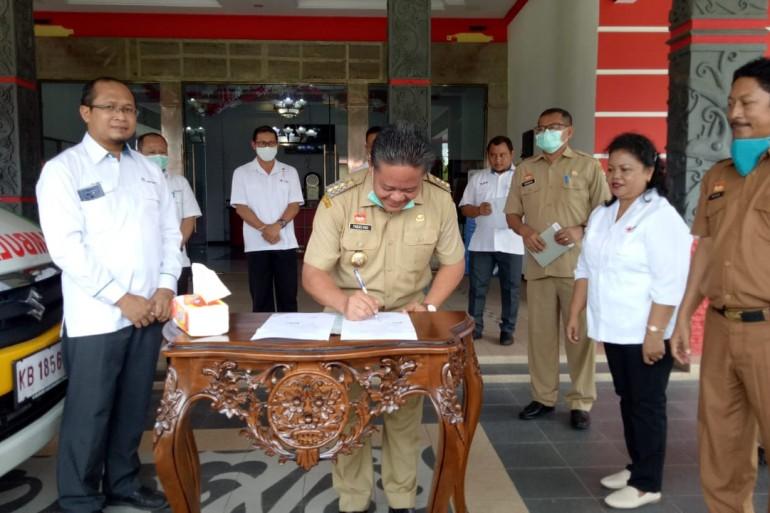 Hadapi Virus Korona, Ketua PMI Sanggau Sebut Ambulan Siaga 24 Jam