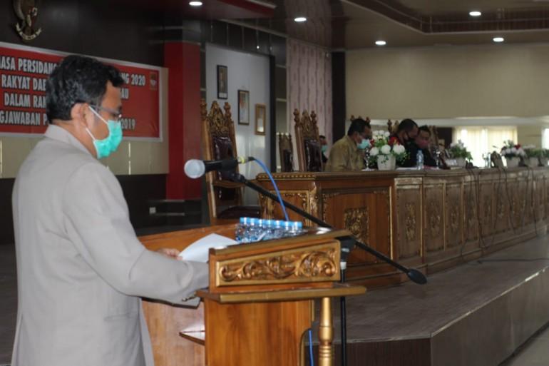 Rapat Paripurna, Masing-masing Fraksi Sampaikan Pandangan Umum