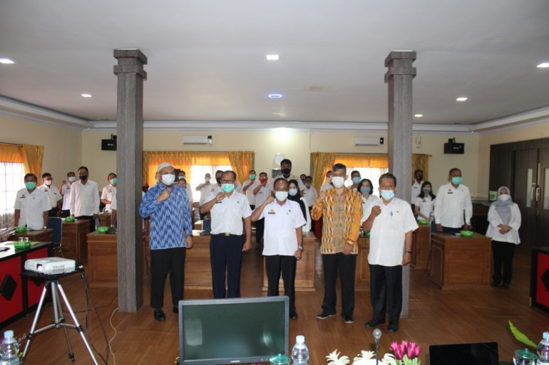 Diskominfo Gelar Sosialisasi Sertifikat Elektronik Bagi OPD Sanggau
