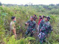 Zidam XII Tpr dan Warga Gun Tembawang, Entikong Berencana Tingkatkan Fasilitas Pos Pengamanan