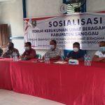 Ketua DPRD Sanggau Ingatkan Soal Pentingnya Kerukunan dan Toleransi Saat Sosialisasi FKUB di Mangkup, Toba