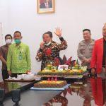 Cegah Covid-19, Pemkab Sanggau Rayakan Hari Jadi ke-404 Kota Sanggau Via Vidcon