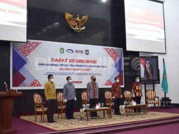 Wabup Sanggau Hadiri Rakor Pengawasan Intern Keuangan dan Pembangunan Prov. Kalbar