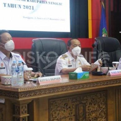 Wabup Sanggau Membuka Kegiatan Pelatihan Dasar CPNS Golongan II Dan III Di Lingkungan Pemkab Sanggau