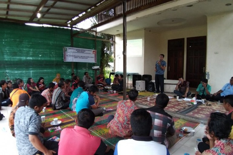 Kabid Pemdes, Alian : Aparatur Desa harus memahami tugas pokok dan fungsinya