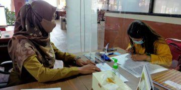 Pelayanan Dinas Nakertrans Sanggau di Mal Pelayanan Publik