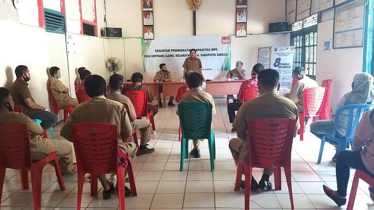 Peningkatan Kapasitas BPD Desa Empirang Ujung Kecamatan Balai