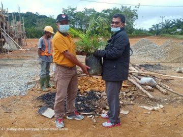 Rangkaian Hari Lingkungan Hidup Sedunia , Dinas LH lakukan Penanaman Pohon dalam Upaya meningkatkan Indeks Kualitas Tutupan Lahan