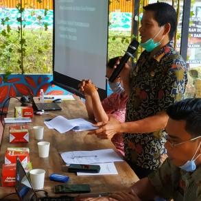 Rapat Evaluasi Perkembangan Desa Persiapan di Kabupaten Sanggau Tahun 2020