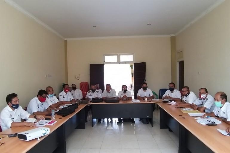 Rapat Koordinasi Terkait Evaluasi dan Perkembangan BUMDES di Kabupaten Sanggau Bersama Camat se- Kabupaten Sanggau