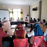 Rapat Persiapan Monitoring Pilkades Serentak Kabupaten Sanggau Tahun 2020