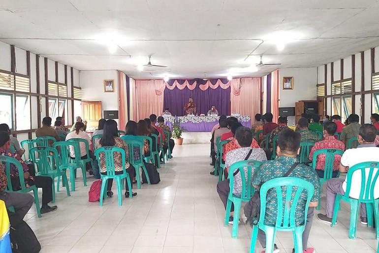 Rekonsiliasi Sisa Dana Desa Tahun Anggaran 2015-2019 Kecamatan Parindu dan Kecamatan Bonti