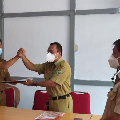 Serah Terima Jabatan Kepala Dinas Nakertrans Sanggau
