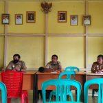 Sosialisasi Kegiatan Desa Fokus Tahun 2020 di Desa Bagan Asam Kec. Toba