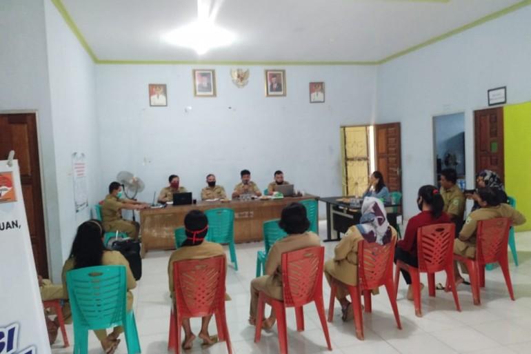 Verifikasi Final Administrasi Batas Desa dan Verifikasi Teknis Perkembangan Desa Persiapan Seguna Desa Sui. Mawang Kec. Mukok.