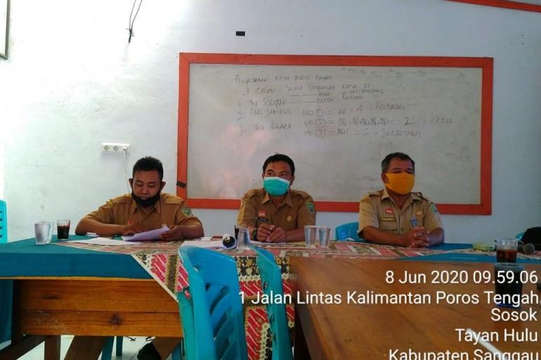 Verifikasi Lapangan IDM Kab. Sanggau tahun 2020 di Desa Sosok Kec. Tayan Hulu