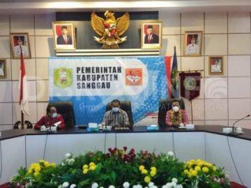 Sekda Sanggau Ikuti Pengukuhan Dewan Pengurus APKASI masa bhakti 2021-2026 Secara Virtual