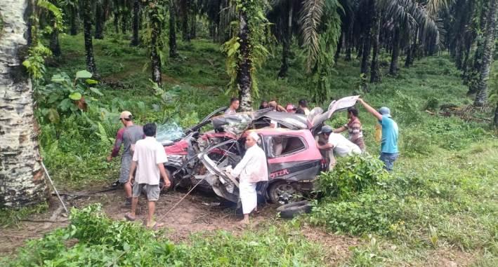 5 Orang Meninggal, Kecelakaan Tunggal di Semuntai
