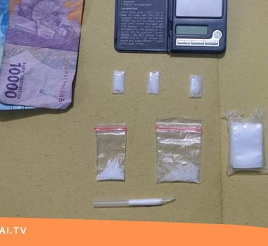 Polisi Ringkus Bandar Narkoba di Kembayan