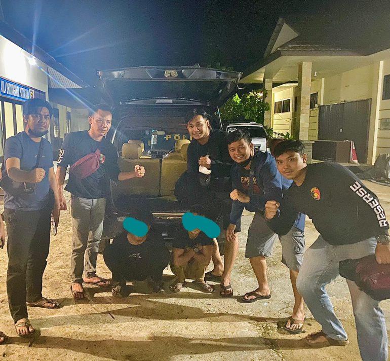 Tim Gabungan Bekuk Dua Tersangka Pencurian Peralatan Elektronik Tempat Ibadah di Kota Sanggau