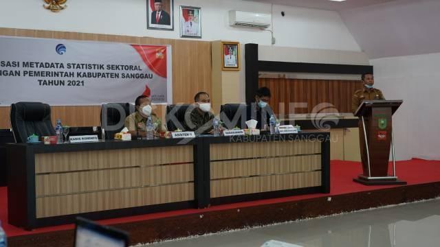 Dinas Kominfo Sanggau Gelar Sosialisasi Metadata Statistik Sektoral Di Lingkungan Pemkab Sanggau