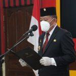 Lantik Pejabat Administrator Dan Pengawas, Bupati Sanggau Katakan Hal Ini