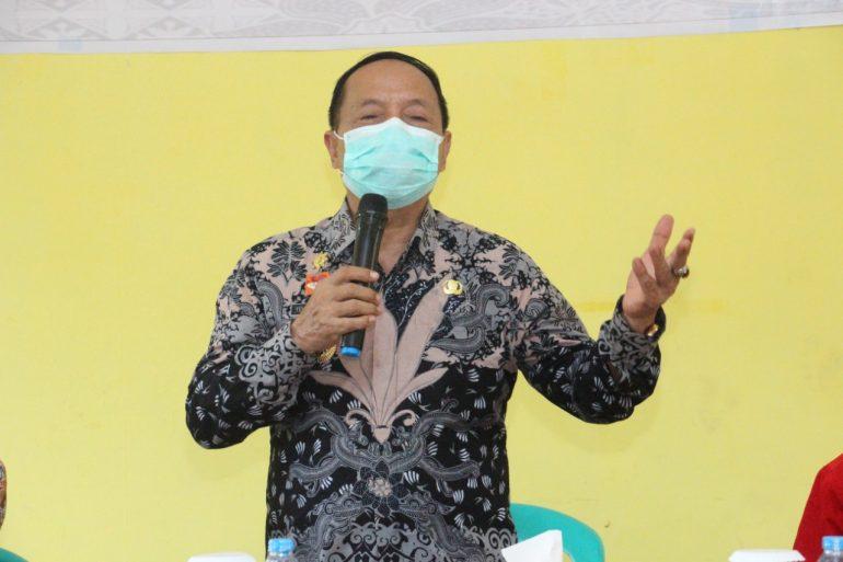 Buka Penyuluhan Pastisipasi Politik di Bereng Berkawat, Wabup Sanggau Ingatkan Ini