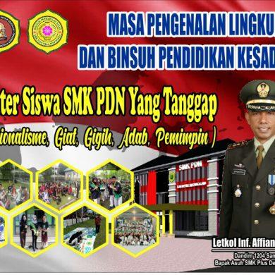 SMK Plus Desa Nusantara Sanggau, Gelar MPLS, Ajang Latih Ketahanan Mental