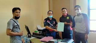 Kosak Shooting Club Sanggau Serahkan Berkas Ke PERBAKIN