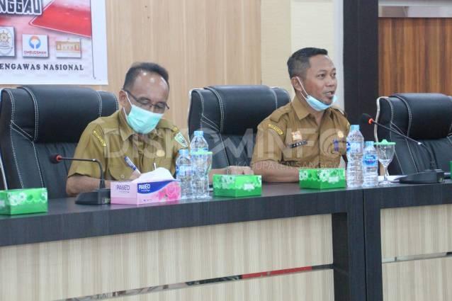 Dinas Kominfo Sanggau Melaksanakan Rakor Tim Pengelola Pengaduan Pelayanan Publik Melalui SP4N-LAPOR