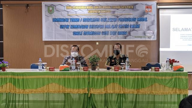 Wakil Bupati Sanggau Buka Bimtek Kebijakan Penanaman Modal Melalui OSS Bagi Umum
